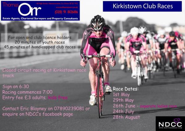 Kirkistown races - sponsored by Thomas Orr, Estate Agents