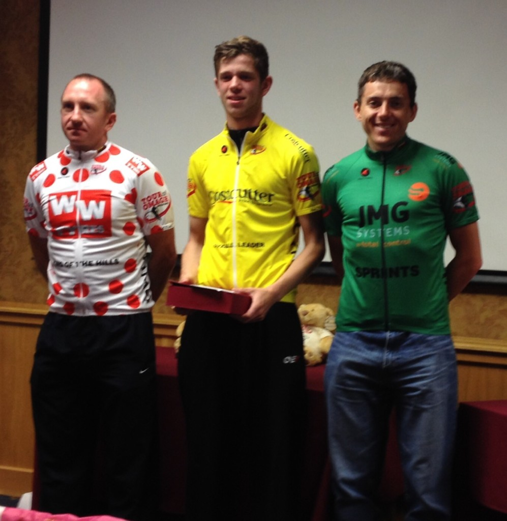 Keith - Sprint Jersey winner and 2nd in GC